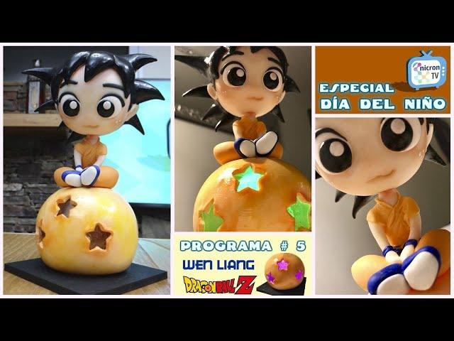 NICRON TV Como hacer goku - Dia del Niño por Wen Liang