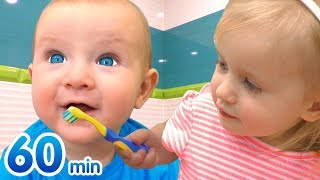 Best Compilation Katya and Dima Nursery Rhymes & Kids Songs