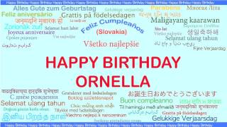 Ornella   Languages Idiomas - Happy Birthday