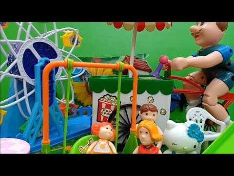 لعبه || الملاهي للاطفال ||  وسياره الايس كريم | اجمل العاب للاولاد والبنات
