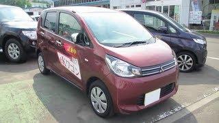 2013 New Mitsubishi eK wagon - Exterior & Interior