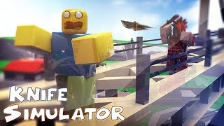 Roblox - Knife Simulator Epic Game play and weird background noise