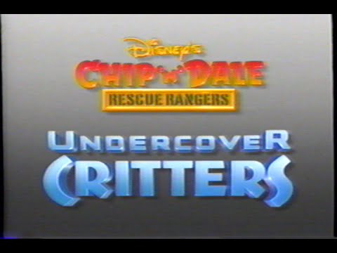 Chip 'n Dale Rescue Rangers - Undercover Critters - Intro (1991) Theme (VHS Capture)