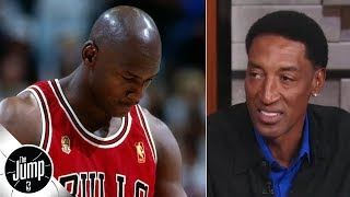 scottie pippen remembers michael jordans iconic 1997 flu game the jump espn