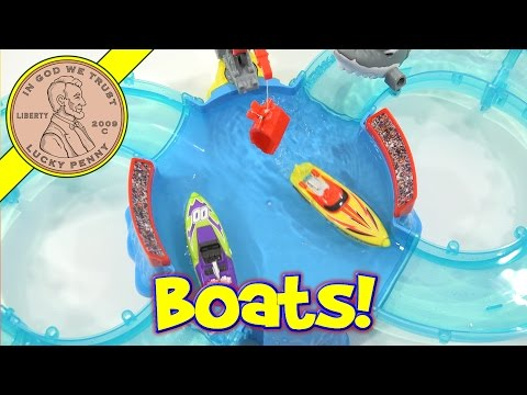 Zuru Micro Boats Shark Attack Challenge - Mini Speed Boats