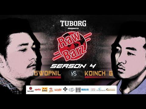 Swopnil Vs Koinch G (Official Battle) | Tuborg Presents RawBarz Rap Battle S04E01