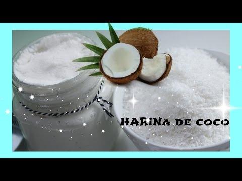HARINA DE COCO/COMO HACER HARINA DE COCO