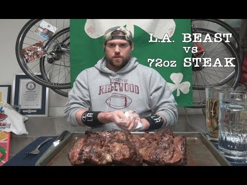 L a beast vs 72oz steak