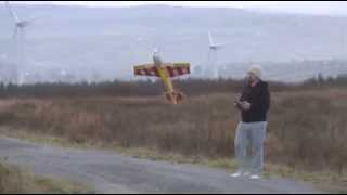 e flite slick 4803d test flight by dan maiden