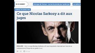 Financement libyen: Sarkozy dénonce une