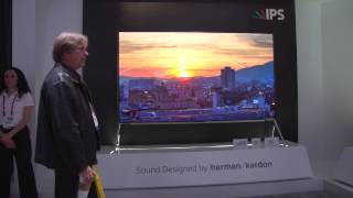 "LG 98"" 4K ULTRA HDTV- LG Highlights from CES 2015"