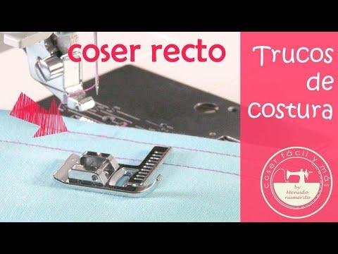 5 trucos para coser recto y no torcerte