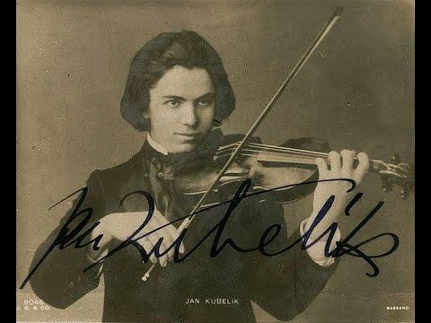 Jan Kubelík - Wieniawaski: Scherzo-Tarantelle