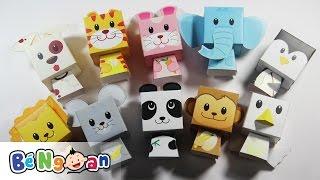 Hướng dẫn gấp các con vật bằng giấy ~ How to paper craft animal
