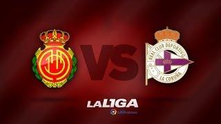 Resumen de RCD Mallorca (0-3) Deportivo de la Coruña - HD