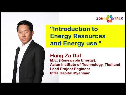 """""""Introduction to Energy Resources and Energy use"""""""