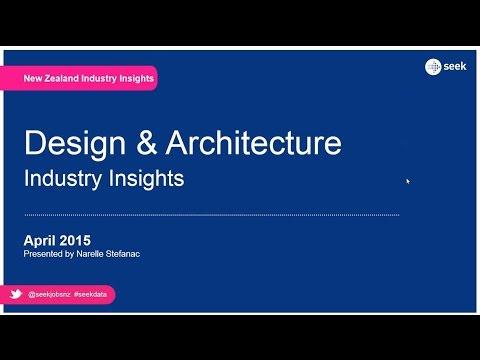 SEEK webinar playback: Industry insights – Architecture & Design (NZ) – April 2015