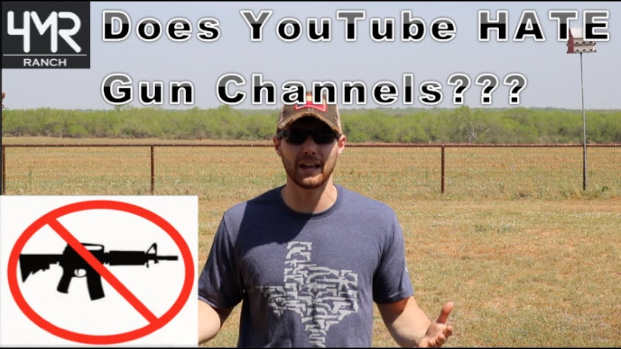 Is this Goodbye for Gun Channels on YouTube???
