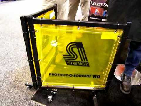 Welding Curtains and Welding Screens - Portable and Inexpensive