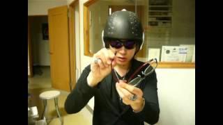 バイク用スポーツサングラスとヘルメットとの相性:金栄堂タケオNEWS
