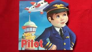 Who am I : Pilot. Read aloud Read Along board book by Sawan