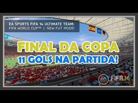FIFA ULTIMATE TEAM 14 - FINAL DA COPA DO MUNDO
