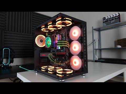 Modifiyeye Açık 10 Fanlı RGB Kasa   Xigmatek Aquarius Plus