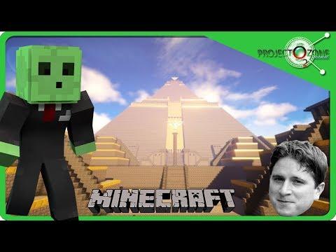 Piramide! BOSS! Mining World! Minecraft Project Ozone 2 E69