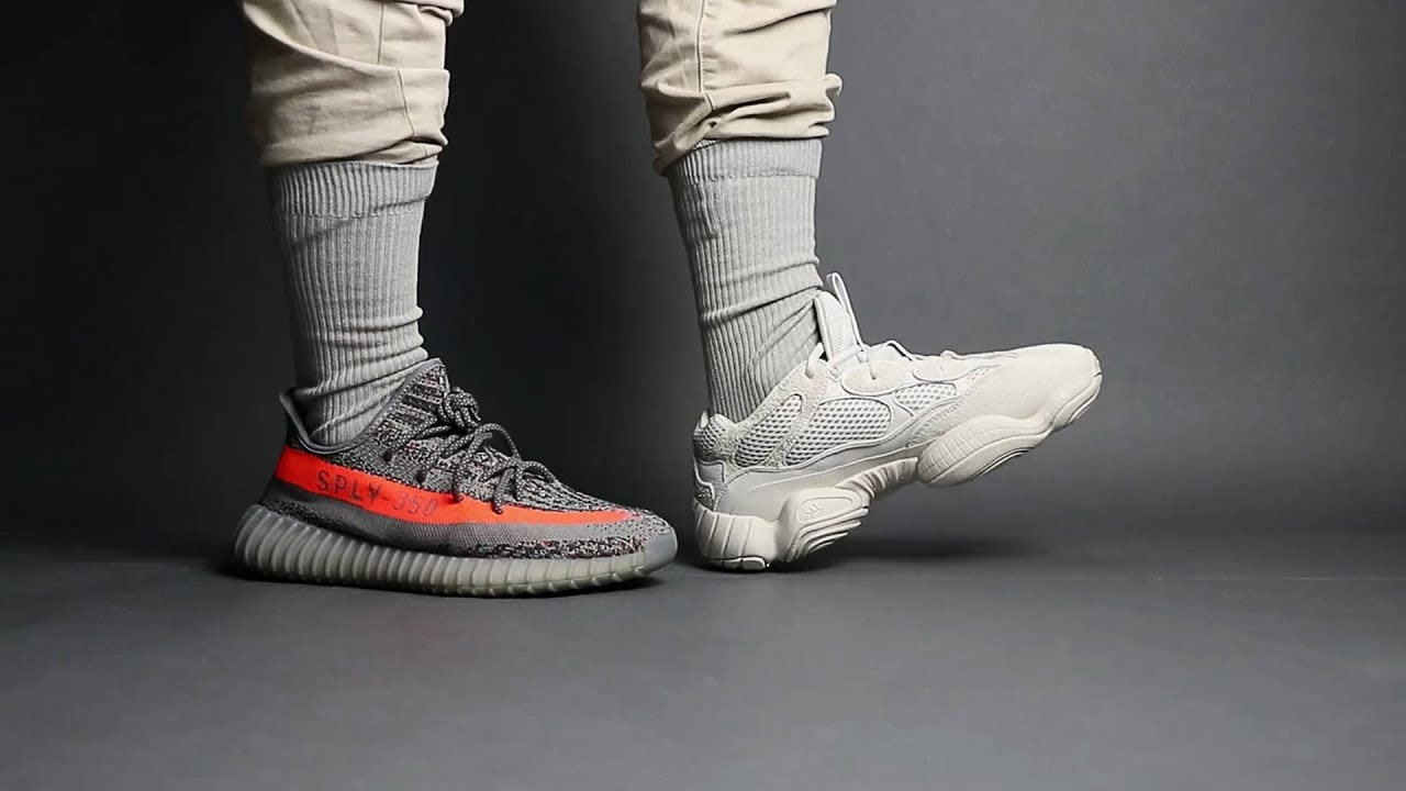 buy online 2643c b14c3 Is AdiPRENE + Better than BOOST? Yeezy 500 vs Yeezy 350 V2 Comfort  Comparison