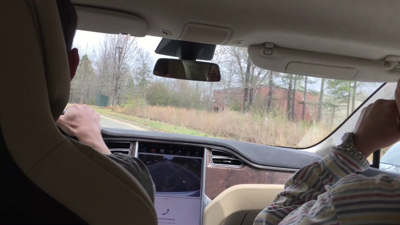 Tesla Model S P100d With Ludicrous Fast Take Off