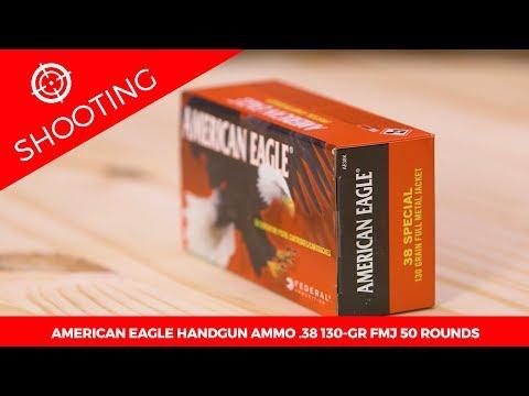 American Eagle Handgun Ammo .38 Special 130-gr. FMJ