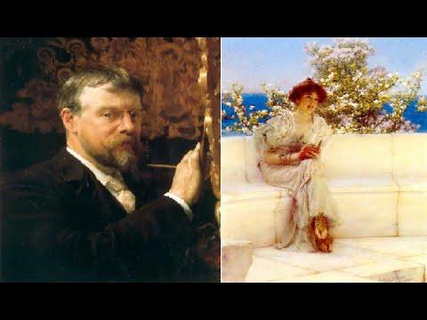 Sir Lawrence Alma Tadema video mostra galleria opere realizzate dal 1852 al 1859