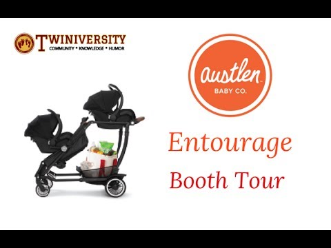 Austlen Entourage Stroller Tour | New York Baby Show 2017
