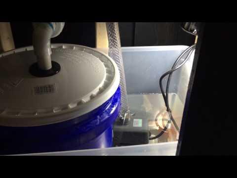 DIY 5G bucket wet/dry sump