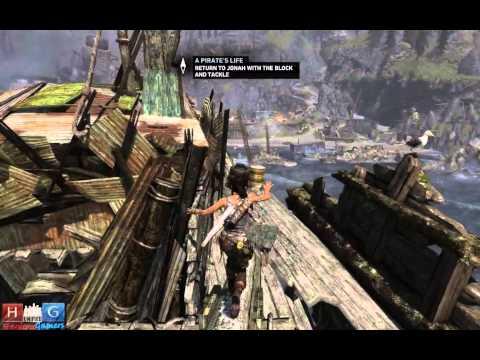 Tomb Raider™ : Reaching the Galleon (Walkthrough #20)
