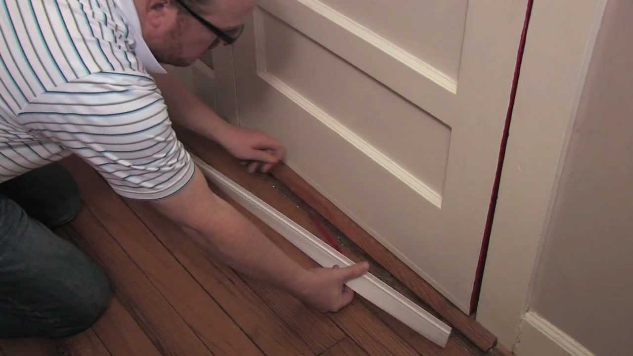 How to Install a Door Bottom  YouTube