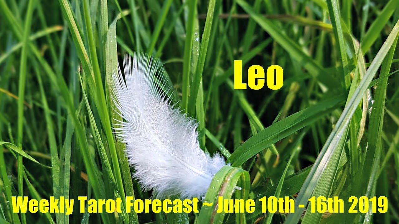 d103bda20 Leo - Spirit is giving you lots of signs! - Weekly Tarotscope June 10th -  16th