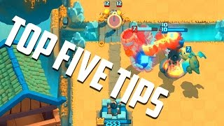 Clash Royale - Top 5 BEST Tips For Winning!