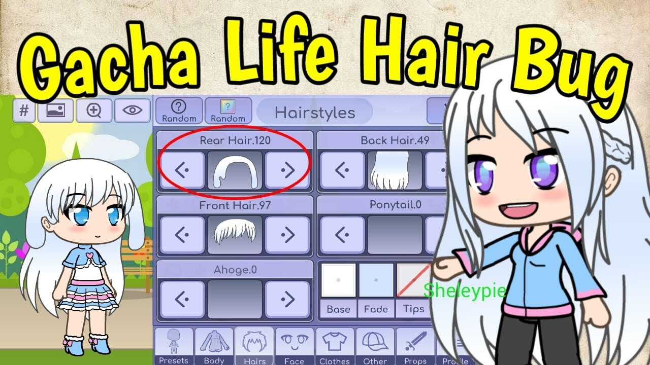 Gacha Life Hair Bug Shout Out Youtube