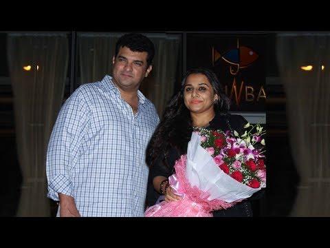 Vidya Balan Spotted On A Dinner Date With Husband Siddharth Roy Kapur