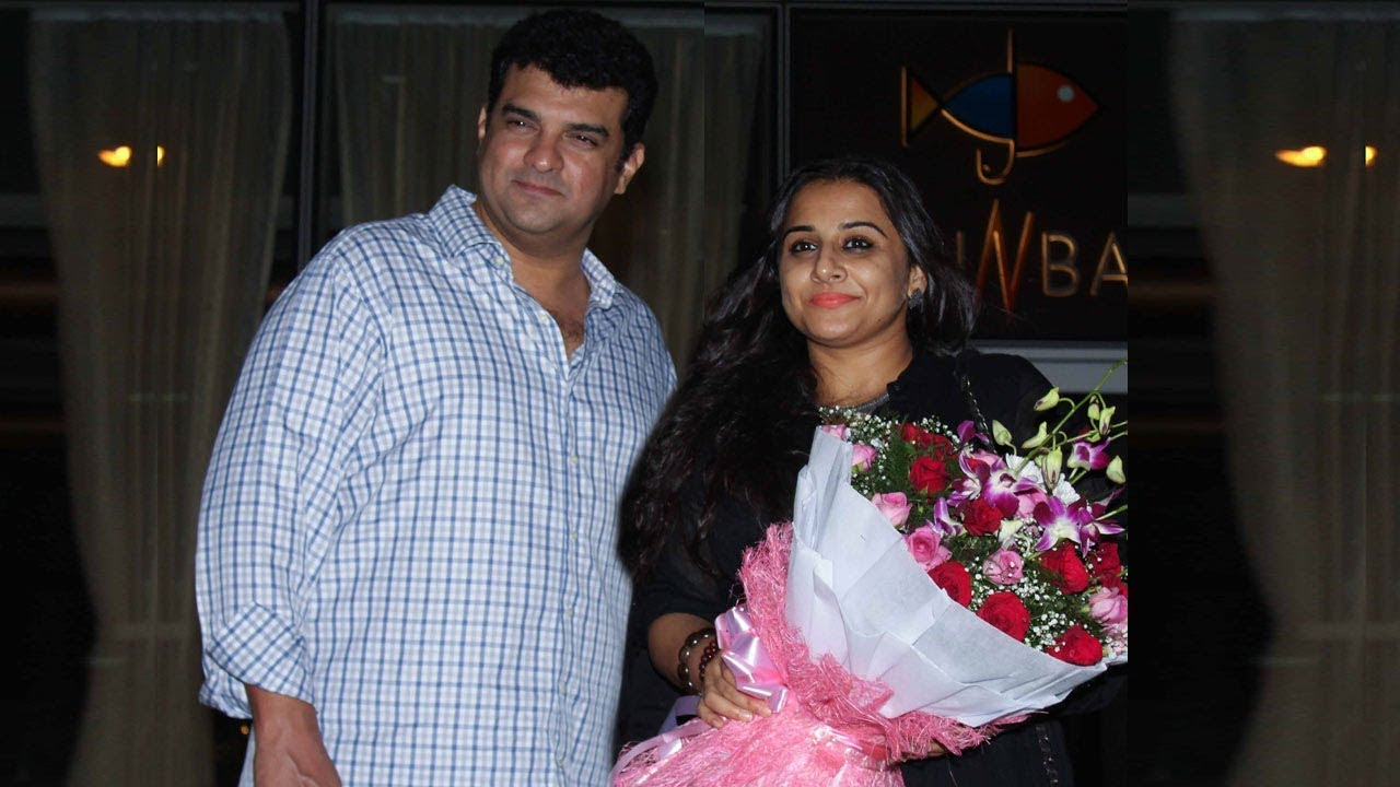 Vidya Balan Spotted On A Dinner Date With Husband Siddharth Roy Kapur