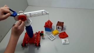 Детский кран Строим дом
