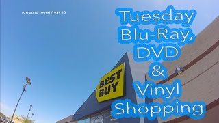 Tuesday Blu-Ray & Vinyl Record Shopping