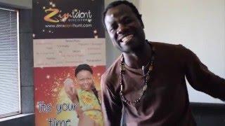 Mbizo Chirasha Season's Greetings ZimTalent Mentor & Trainer