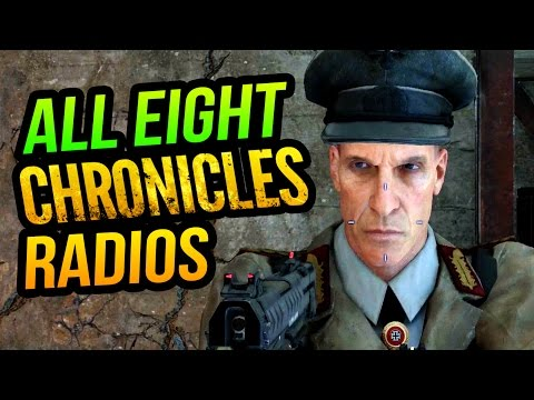 ALL 8 NEW MONTY RADIOS IN BO3 ZOMBIES CHRONICLES: MONTY TALKS GERSH, BROCK & GARY, SAM & MORE!!