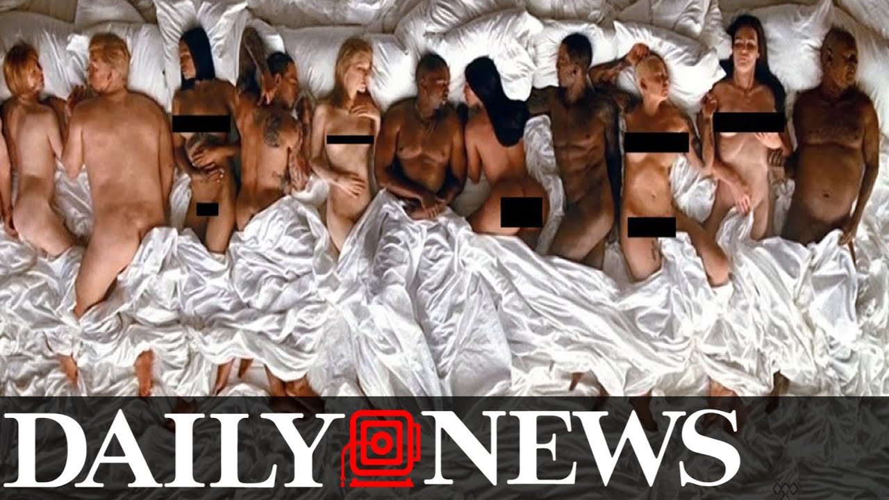 Nude Look A Likes In Kanye West Music Video Famous - Youtube-7974