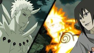 Naruto Shippuden Episode 379 -ナルト- 疾風伝 Anime Review -- Naruto, Sasuke & Hokage Vs Juubi Obito