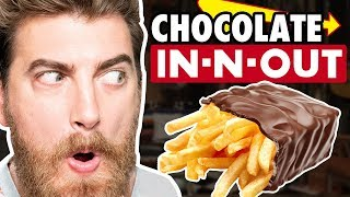 Chocolate Covered Fries Taste Test