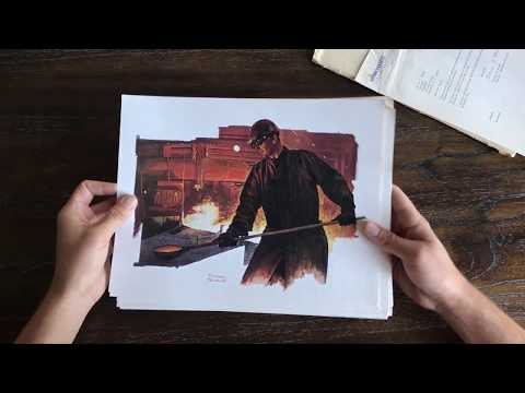Sharon Steel Corp. - Norman Rockwell Prints [Full Set]