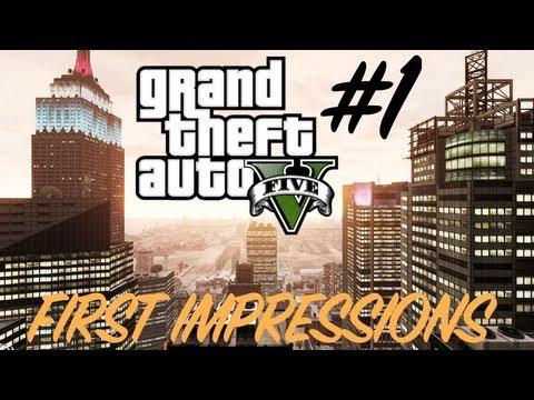 GTA 5   First Impressions
